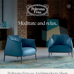 Arredi Poltrona Frau: un invito al relax