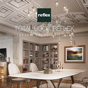 Reflex, un total look per spazi ricercati e piacevoli