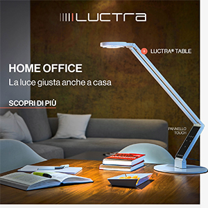 Home Office Luctra: l'illuminazione giusta per il tuo smart working