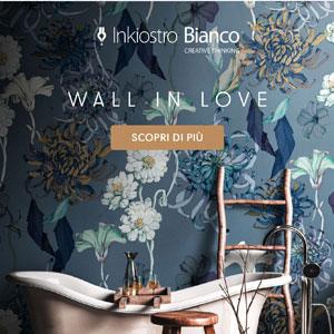 Carte da parati custom-made Inkiostro Bianco: scopri le collezioni