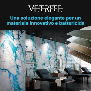 Lastre decorative Vetrite: eleganti ed antibatteriche