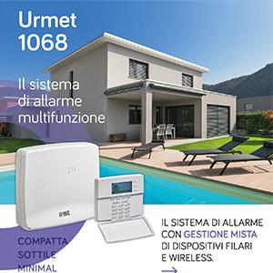 Sistema di allarme multifuzione Urmet 1068