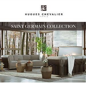 Living, pranzo e zona notte Hugues Chevalier: Saint Germain Collection