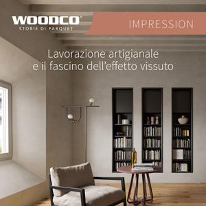 Parquet Woodco Impression: artigianato e design