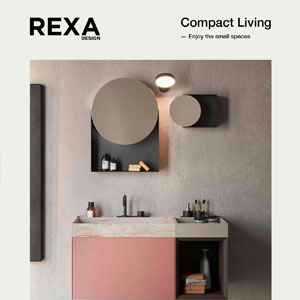 Collezione bagno Rexa Design per piccoli spazi