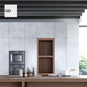 Cucina in puro legno massello di noce: Legno Vivo by GD Arredamenti