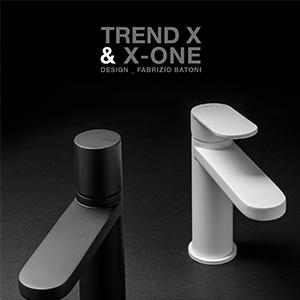 Rubinetterie Zazzeri: Trend X & X-ONE - easy look, look smart