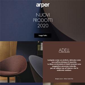 Nuove Collezioni Arper 2020