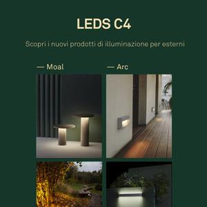 Illuminazione per esterni LEDS C4: nuovo catalogo News Outdoor 2020