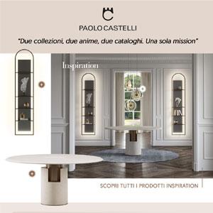 Paolo Castelli cataloghi e collezioni 2020 per living, dining e notte