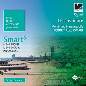 Membrana impermeabile Renolit Alkorsmart: migliore resa, minime risorse