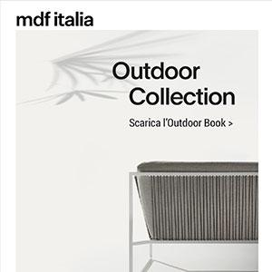 L'Outdoor MDF Italia: eleganza e leggerezza