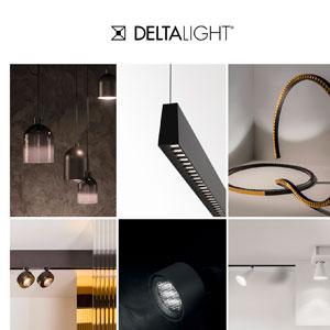 Nuova collezione Delta Light per esterni, uffici, hospitality e residenziale