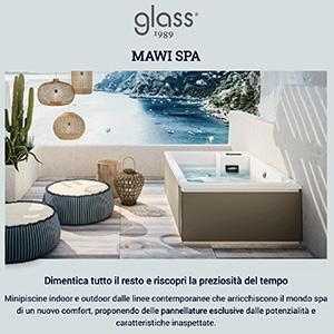 Minipiscine Mawi Spa con nuove pannellature personalizzabili by Glass 1989