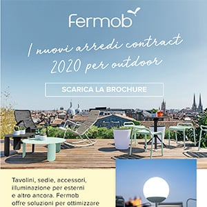 Fermob, i nuovi arredi contract 2020 per l'outdoor