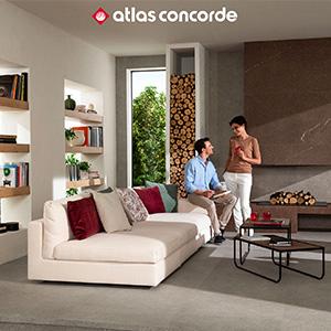 Pavimento effetto pietra per interni ed esterni Dolmen Pro by Atlas Concorde