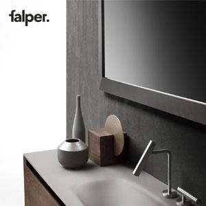 Falper, nuovi rubinetti in acciaio inox dall'identità inconfondibile