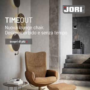 Time-Out Lounge Chair JORI: design morbido e senza tempo