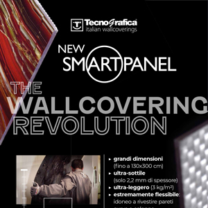 Pannello decorativo flessibile Tecnografica New Smart Panel