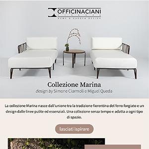 Collezione Marina by Officinaciani: tradizione fiorentina del ferro forgiato