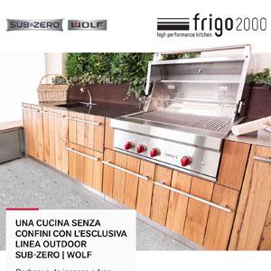 Una cucina outdoor senza confini: nuova linea barbecue Wolf e Sub-Zero