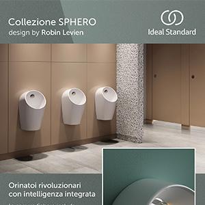 Orinatoi intelligenti Ideal Standard: design, igiene e risparmio