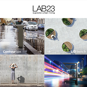 Arredo urbano LAB23: scopri la nuova collezione