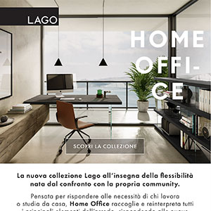 Lago Home Office, arredi componibili per l'abitare contemporaneo