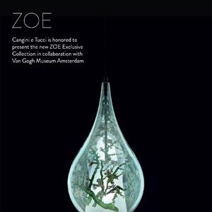 Lampade in vetro soffiato che incontrano l'arte: Zoe Van Gogh by Cangini & Tucci