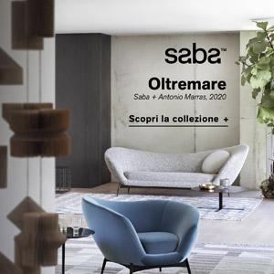 Saba, sedute Oltremare: curve sinuose dall'anima contemporanea
