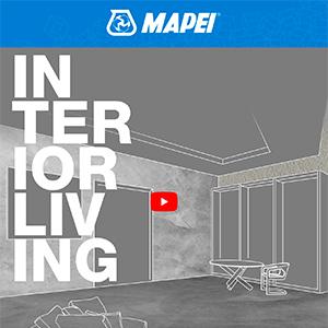 Ultratop Loft Mapei: rivestimento cementizio per pavimenti decorativi e rivestimenti a parete