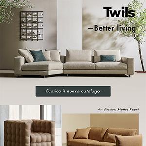 Twils, nuova linea di divani Better Living