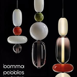 Lampade in vetro soffiato a mano Bomma. Configura la tua scultura