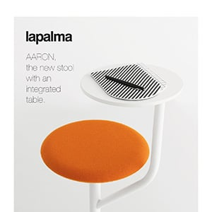 Novità Lapalma: sgabello con tavolo integrato