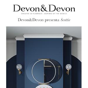 Devon&Devon presenta Scottie: mobile lavabo con specchio