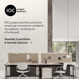 Arredi funzionali e trasversali per ufficio e contract: IOC project partners