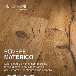 Parquet Unikolegno, Rovere Materico: il sapore del vero legno antico