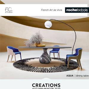 Roche Bobois, collezione autunno-inverno 2020