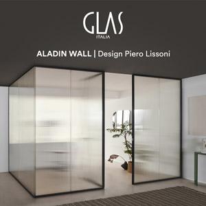 Glas Italia: il vetro per progettare e organizzare gli spazi