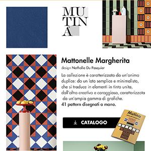 Mattonelle Margherita by Ceramiche Mutina: pattern, colori e vivacità