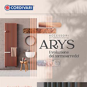 Cordivari, accessori per radiatore Arianna