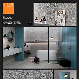 Grande formato. Grande bellezza: scopri Bloom di Fap Ceramiche