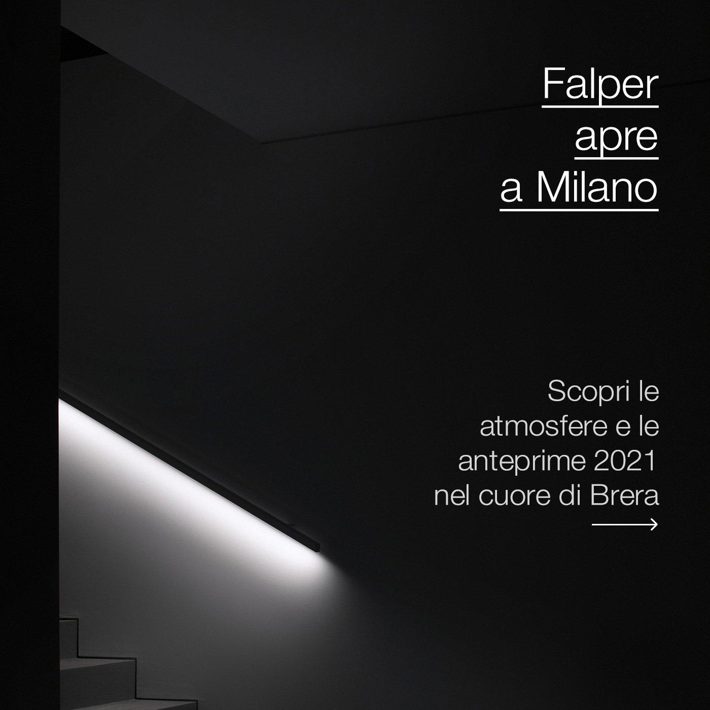 Falper apre a Milano: atmosfere e anteprime 2021 nel cuore di Brera