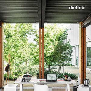 Dieffebi: tavoli per l'ufficio e lo smart working, accessoriabili e riconfigurabili