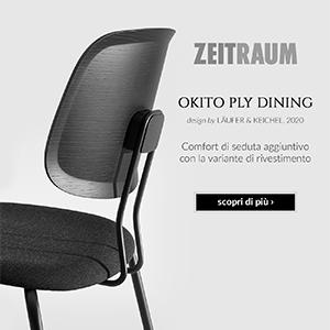 Okito Ply Dining Zeitraum: seduta minimale in legno massello