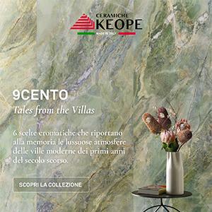Ceramiche Keope 9cento: il marmo ispirato all'architettura di inizio novecento