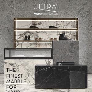 Grandi lastre Ultra Ariostea: gres porcellanato per pavimenti e rivestimenti