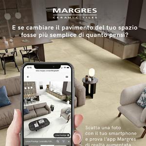 Cambia il tuo pavimento con uno scatto: Margres AR simulator