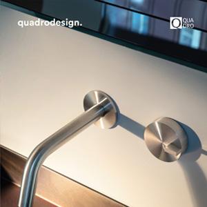 Rubinetti in acciaio inossidabile: Quadrodesign serie Q