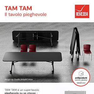 Tavolo pieghevole IBEBI per uffici, biblioteche e università
